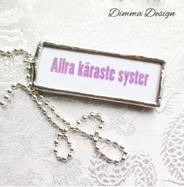 Lött smycke Allra käraste syster 2