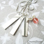 Halsband stansat 3 tags & ängel - Stansat halsband 3 tags & ängel
