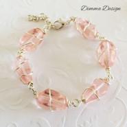 Wire wrap rosa