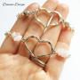 Armband tunn kedja & hjärta 1