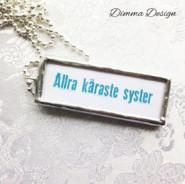 Lött smycke Allra käraste syster 1