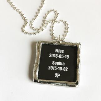 Namn & Datum - svart - Namn & Datum - svart