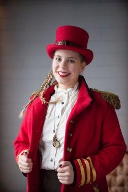 Hanna Vagant på Steampunkmässan 2017