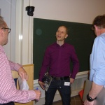 Joel Kjellgren, Mikael Börjeson, Christer Åhlund