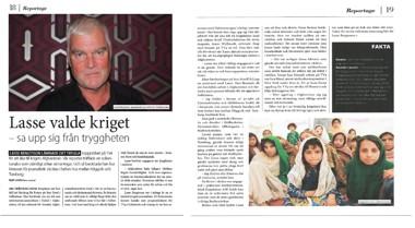 Reportaget kan läsas på sidorna 18-19