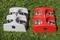 Matbarer - NY färg maxi 4 röd och ljusgrå