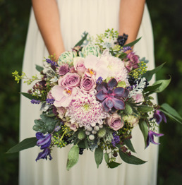 Brudbukett från Blomsterkompaniet