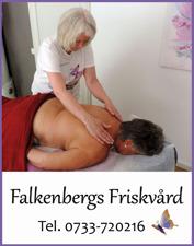 Söker du aromamassage i Falkenberg? Falkenbergs Friskvård erbjuder Armomamassage - en härligt avslappnande massage med aromaoljor som mjukar upp musklerna.  Perfekt om du känner dig stressad och behöver slappna av.