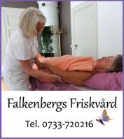 Presentkort på massage, ljusterapi, hälsokurser & hälsoprodukter på Falkenbergs Friskvård i centrala Falkenberg