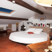 Den runda vattensängen i rum Rondo
