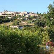 Utsikt mot Saint Paul de Vence