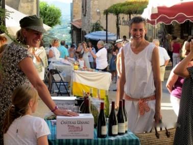 Marknadsdagen i de provensalska byarna hör till resans höjdpunkter.