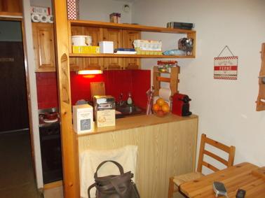 Studio för 3 personer i La Foux d'Allos i Provence