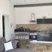 Fristående hus - kök och vardagsrumsdel