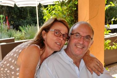Värdparet Jeanne och Guy