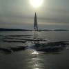 DN Fin is på Kungsbackafjorden