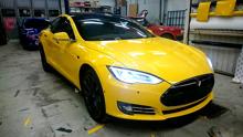 Foliering Tesla