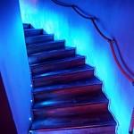 Trappa mellan våningarna