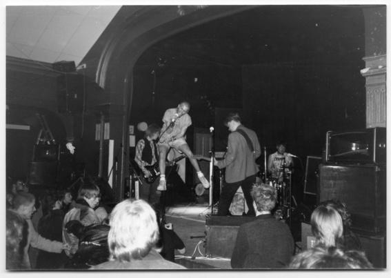 Rövsvett på Arbis i Linköping 1985. Foto: Magnus Grehn
