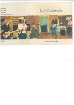 Vi och ni centralen - Live i Gransbo 1982 CD-r