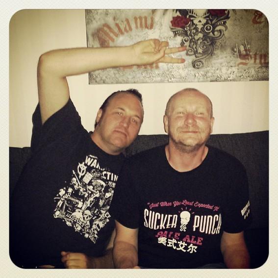 Yxan och Fredde Lindén. Yxan Göteborgare och Fredde bor i Shanghai.