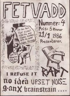 Fetvadd # 4, 1986