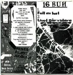 16 Blåsare Utan Hjärna Split/w. Brutal Personal, EP (91)