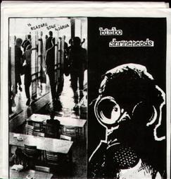 16 Blåsare Utan Hjärna Split/w. Bimbo Shrineheads, EP (89)