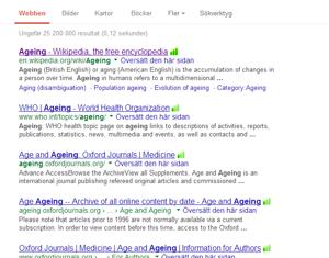 åldrande google
