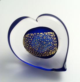 Hjärta Blue Gold - Hjärta Blue Gold 1