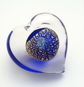 Hjärta Blue Gold - Hjärta Blue Gold 2