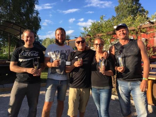 Vinnarna i Carlos Cup 2017 på Don Camillo Kosta