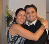 Natalia Nyvall Pareja och jag på jannes 40-års fest