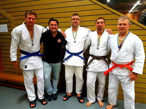 Anders, jag, Thomas, Rino och LJ