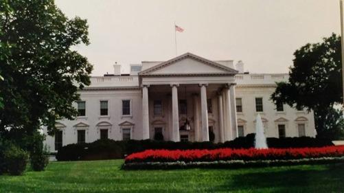 Egen bild på Vita huset