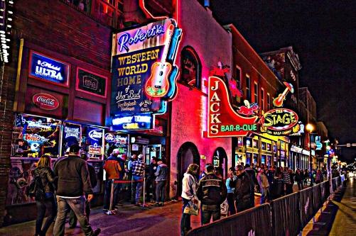 Honky-Tonks-Nashville-Tennessee