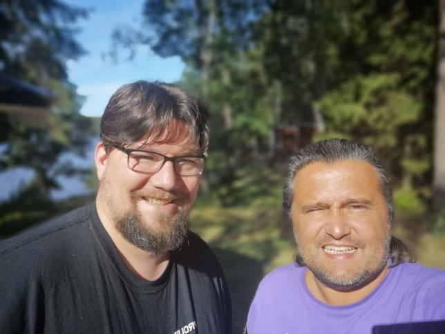 Jag och min vän Mikael