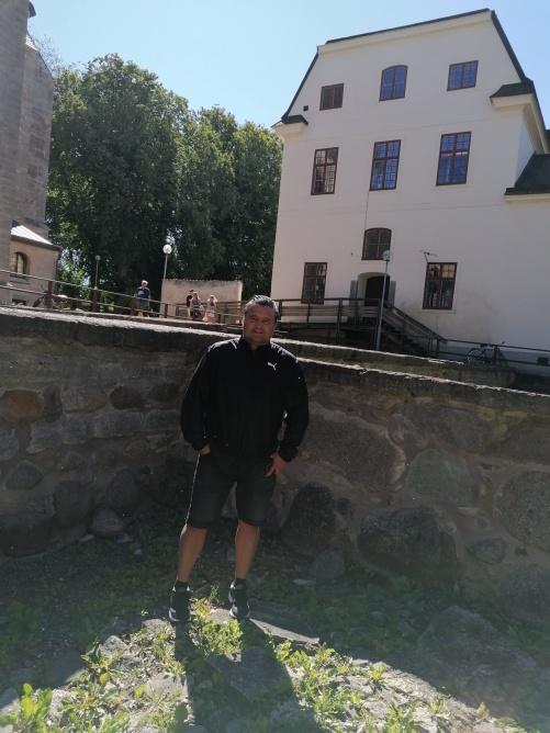 Jag står i ett av de två bryggerierna som  tillhörde klostret.