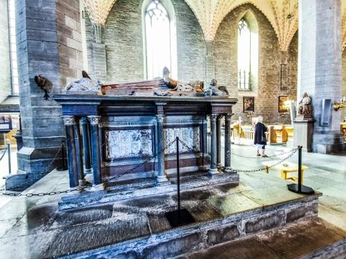 Hertig Magnus Vasas gravmonument