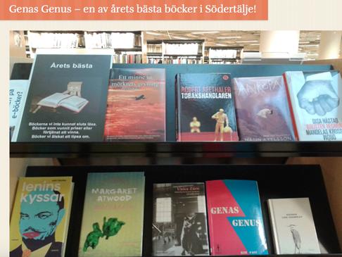 Genas Genaus av Kim Fast - en av åtets bästa böcker!