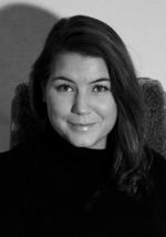 """Linda Gabrielsson romanförfattare. Aktuell med """"Kärlek tjockare än blod""""."""