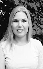 """Anna Ocklind romanförfattare. Aktuell med sin debutroman, """"Laima och den besynnerliga fegheten"""""""
