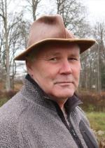 """Olle Nåbo, författare. Strax aktuell med """"Landsflykt"""", den första delen i en historisk romansvit om maktkamper och äventyr i 1000-talets Europa."""