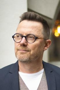 "Leif Bergholtz, författaren bakom romanen ""I skogen""."
