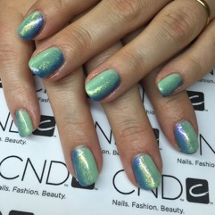 Prisex: Vackra naglar med nail art Shellac avancerad alla fingrar 625kr