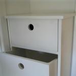 Byrå Skyberga med utdragen låda