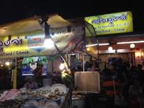 Lung Ja seafood, vår favorit på Nattmarknaden