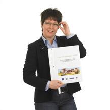 """Lisa Persdotter, projektledare för utbildningen """"Vägen till marknaden"""", LRF och LRF Konsult."""