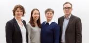 Teamet Din Marknadschef är Erica, Emmie, Lisa och Tobias