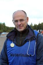 Lars Roepstorff dömde finalerna. Foto: ©Ulf Lonäs